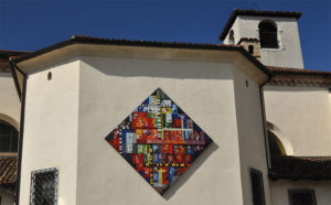 Mosaico Chiesa Ss. Giuseppe e Pantaleone - Spilimbergo
