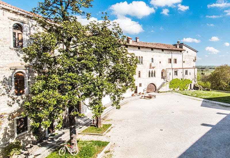 Corte interna Castello di Spiimbergo