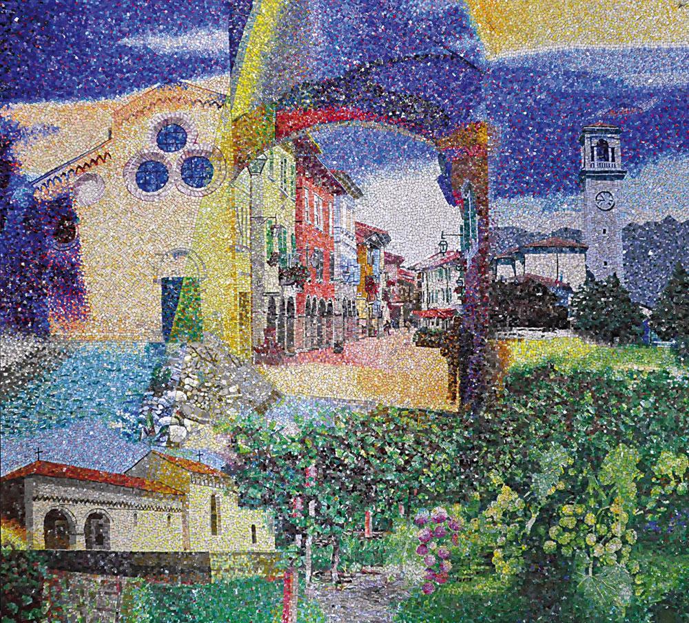Mosaico Friulovest Banca Spilimbergo